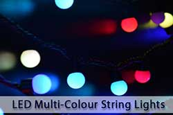LED Multi-Colour String Lights