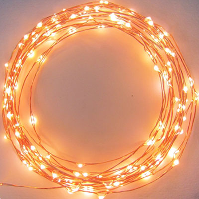 LED Copper Starry String Lights